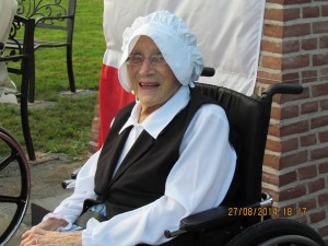Evelyn Burke 98 years old